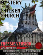 Mystery in the Chicken Church - FREEBIE - Level 4 Adventure - 5e