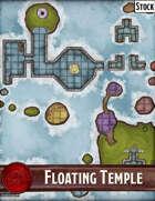 Elven Tower - Floating Temple   29x29 Stock Battlemap