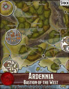 Elven Tower - Ardennia Bastion of the West | Stock Region Map