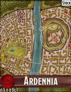 Elven Tower - Ardennia | Stock City Map