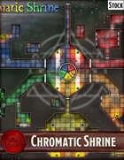 Elven Tower - Chromatic Shrine | 39x33 Stock Battlemap