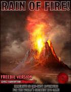 Rain of Fire - FREEBIE - Level 4 Adventure - 5e