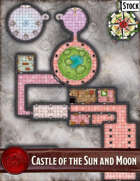 Elven Tower - Castle of the Sun and Moon | 47x62 Stock Battlemap