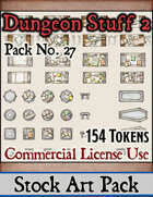 Dungeon Stuff and Objects 2 - Stock Art