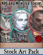 NPC and Monster Tokens Vol. II - Stock Art