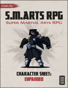 S.M.ARTS RPG - Character Sheet: Expanded