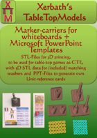 marker carrier for whiteboard & washers & cards
