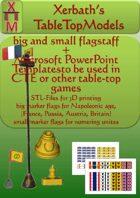 flagstaffs  & cards
