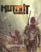 MUTANT: Year Zero Gamesmaster Screen - PDF