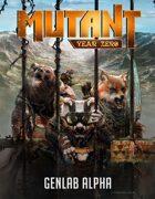 Mutant: Genlab Alpha core book