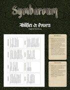 Symbaroum - Abilities & Powers