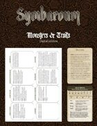 Symbaroum - Monsters & Traits