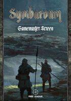 Symbaroum - Davokar Game Master's Screen