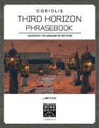 Coriolis: Third Horizon Phrasebook