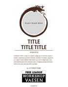 Vaesen - Free League Workshop Design Templates