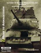 Road to Armageddon - Category IV Wartime Mobilisation Only Divisions