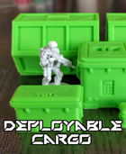 Deployable Cargo: 3D Printable Sci-Fi Containers