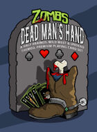 Zombs: Dead Man's Hand Playing Cards