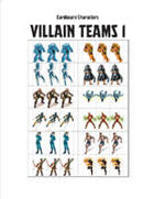 Cardboard Characters - Master Villains