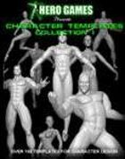 Super Hero Character Template Collection - PDF