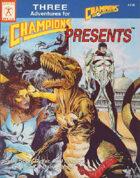 Champions Presents #1 (4th edition)