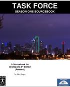 TASK FORCE: Season One Sourcebook and HDC Bundle