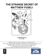 The Strange Secret of Matthew Fuseli