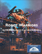 Robot Warriors to HERO System Current Editions