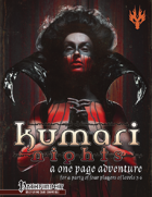 Kumari Nights: A One Page Adventure for the Pathfinder Role Playing Game