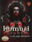 Kumari Nights: A One Page Adventure for Savage Worlds