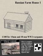 Russian Farmhouse for Wargames