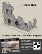 Generic Ruin for Wargames