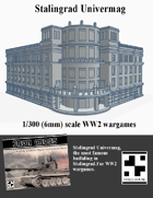 Stalingrad Univermag (6mm) 1/300