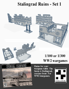 Stalingrad Ruins - Set I