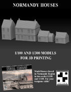 Normandy Houses 1/100 & 1/300