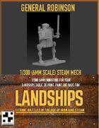 General Robinson - Human Steam Mech