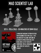 Mad Scientist Lab - Set II Tesla Coils