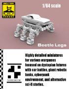 Beetle Legs 1/64 for Car Combat Games