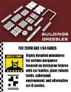 Buildings Greebles - SET 1