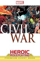 Marvel Heroic Roleplaying: Civil War Event Book (Premium Edition)