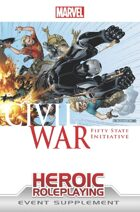 Marvel Heroic Roleplaying: Civil War Fifty State Initiative