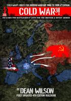 COLD WAR3! Rules for Modern Warfare 1960-1990