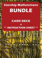 Starship Malfunction Cards Set [BUNDLE]