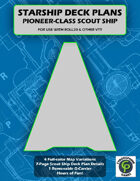 Pioneer-Class Scout Ship Deck Plans For VTT