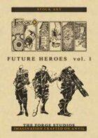 FUTURE HEROES - Art pack