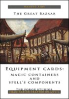Equipment Cards: Magic containers and spell's components