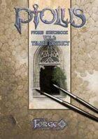 Ptolus Sketchbook Vol. 2:Temple district