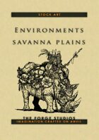 Environments: Savanna plains
