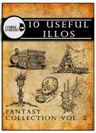 10 useful illos - Fantasy collection vol. 2