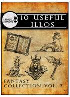 10 useful illos - Fantasy collection vol. 3